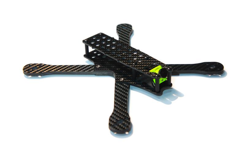 Revolver230 v3 - топовая гоночная рама для квадрокоптера из карбона