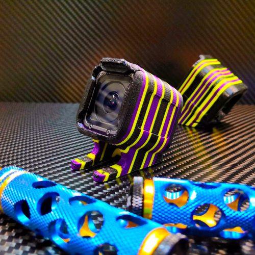 Разноцветная 3D-печать из мягкого пластика