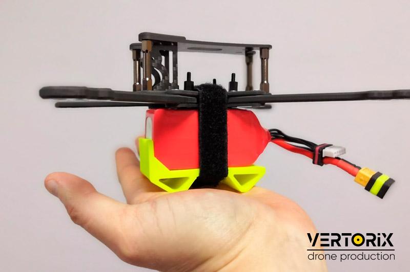 Фото резиновой защиты для аккумулятора квадрокоптера