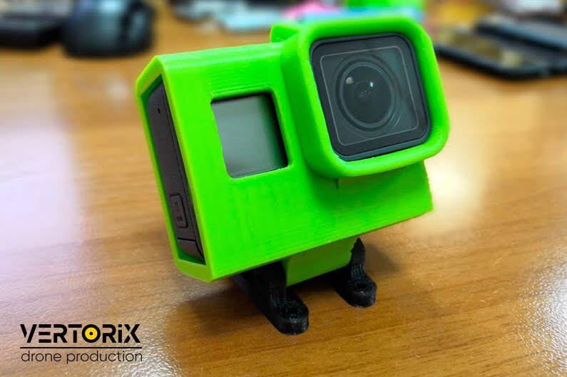 Фото защитного бокса из гибкого пластика для GoPro 7 для коптера