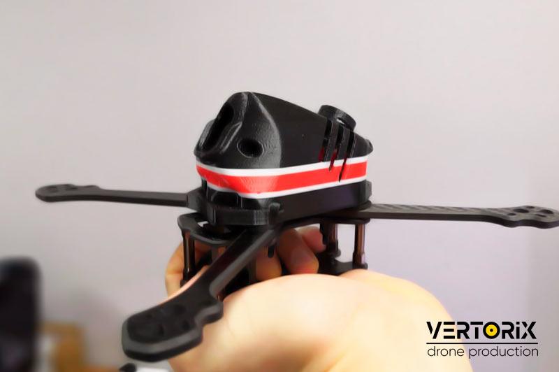 Фото 3D печати канопы для гоночного квадрокоптера