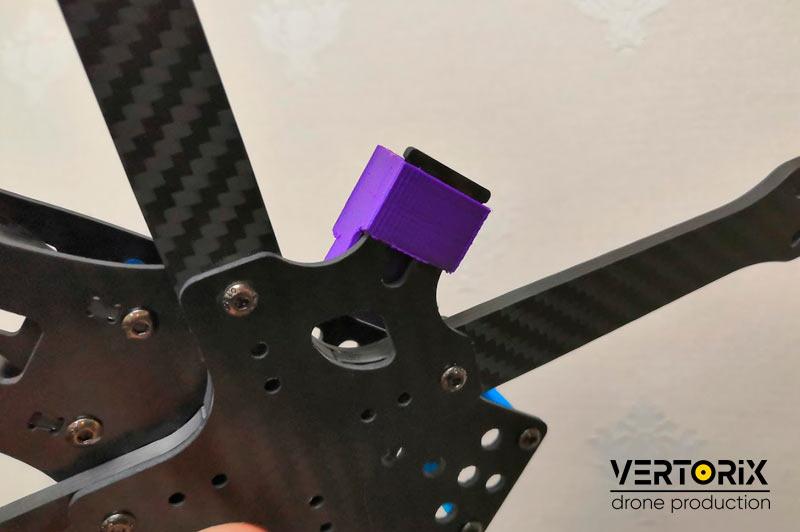 Фото Крестовина для крепления GPS-модуля на раму квадрокоптера