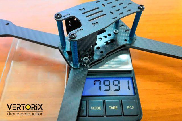 Фото Вес рамы для гоночного квадрокоптера IFRYT