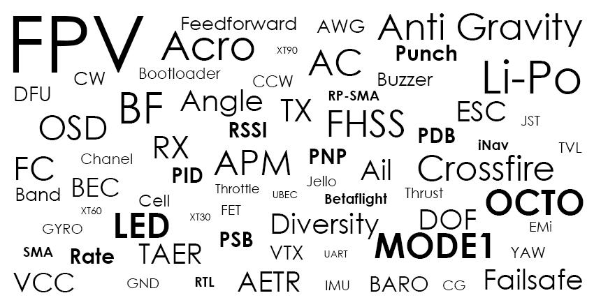 Словарь FPV терминов