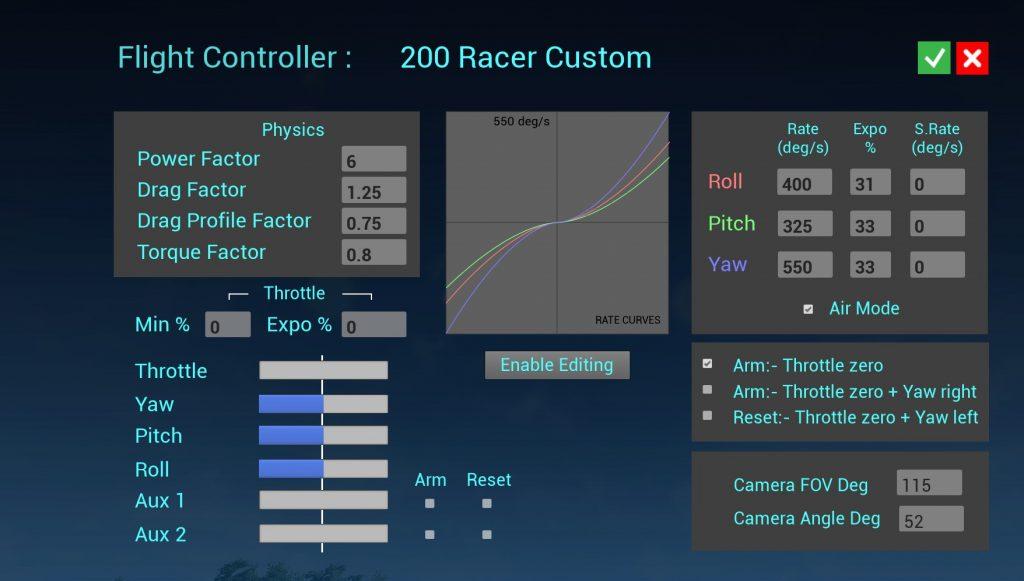 Как настроить Rotor Rush?