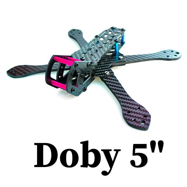 """Doby 5"""" - рама из карбона для сборки коптера с камерой"""