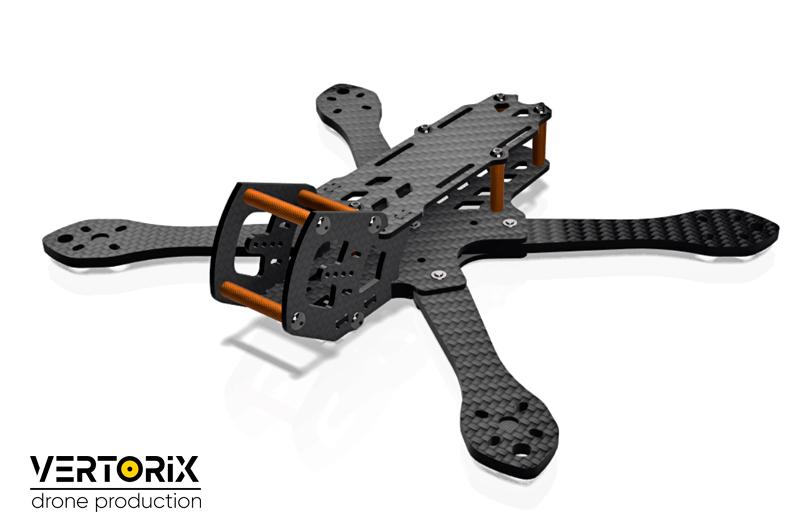 Doby 5 - рама для сборки спортивного квадрокоптера для съёмок