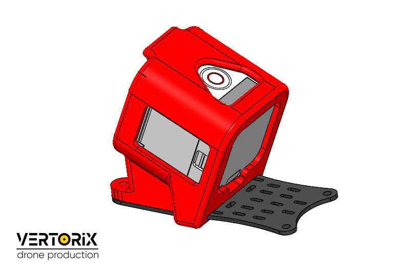 Печать деталей из гибкого пластика в Москве для коптеров и дронов