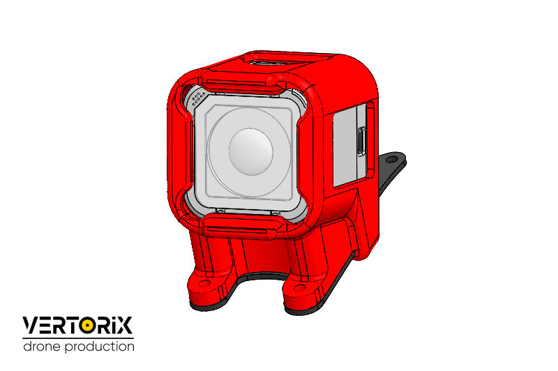 Защитный бокс экшен-камеры GoPro Session для рамы квадрокоптера Ifryt