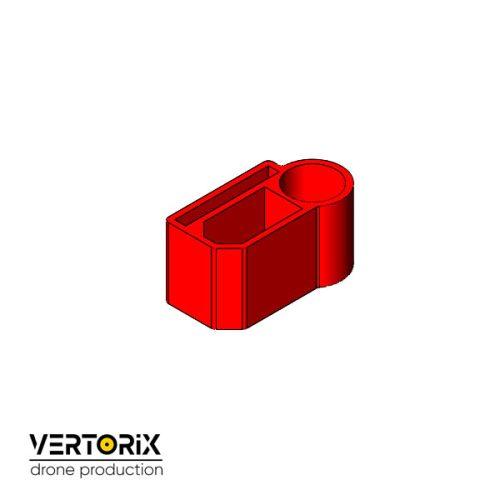 Крепление для разъёма XT60 с конденсатором