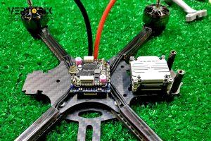 Размещение электроники в раме коптера, дрона, квадрокоптера