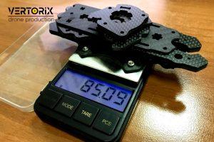 Вес рамы из карбона для FPV-дрона