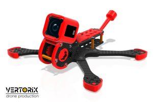 Рама для гоночного съёмочного коптера Doby с камерой GoPro