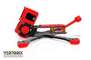 Doby Bando Edition - рама гоночного коптера с камерой GoPro в сборе