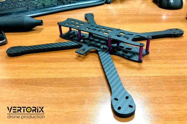 Рама для сборки беспилотника на заказ в Москве - Vertorix Drone Production