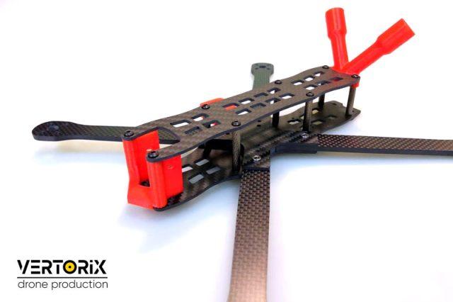 """Lucanus 7"""" - рама для сборки дрона БПЛА для полётов на большой высоте"""