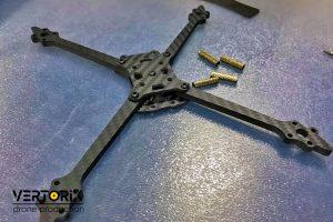 Комплект деталей из карбона для сборки гоночного дрона Pduke Купить в Москве