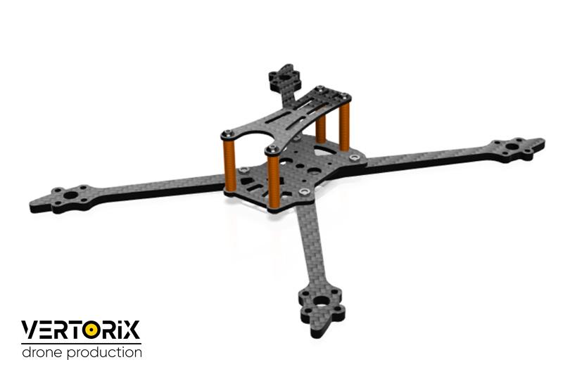 Самая лёгкая рама для сборки гоночного дрона - PDuke