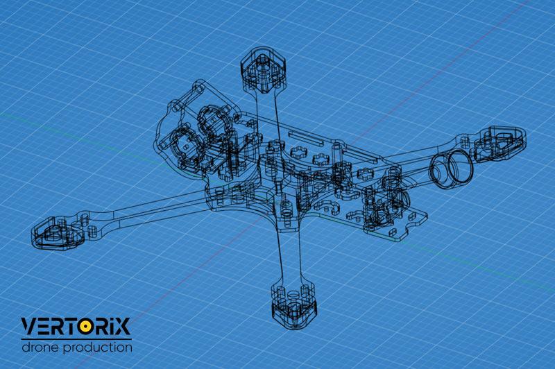 Vertorix - сборка квадрокоптеров на заказ в Москве