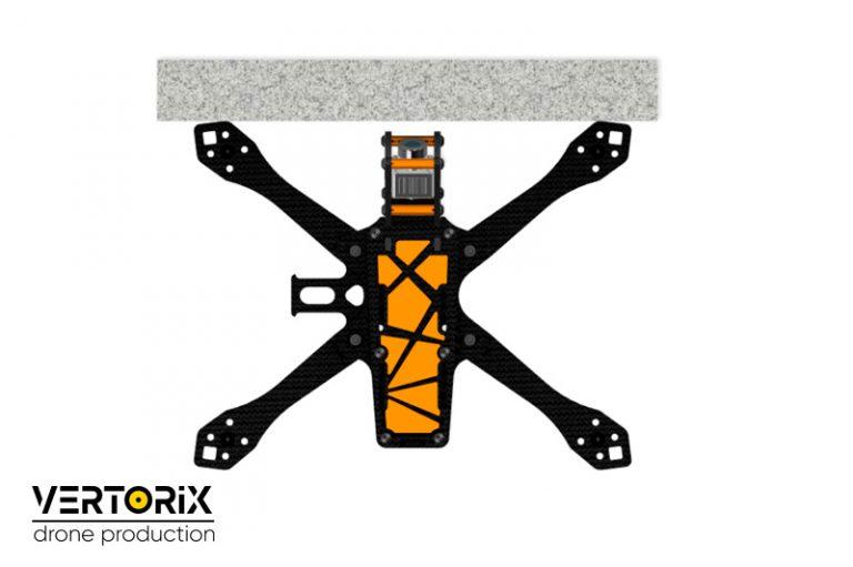 Правильная рама для сборки FPV-дрона с камерой