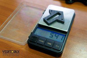 Вес деталей для сборки коптера