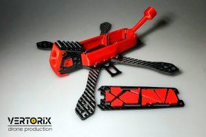 Vertorix Mandarin - квадрокоптер для полётов зимой